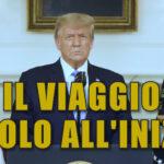 🔴 TRANSIZIONE REGOLARE. L'ultimo discorso di Trump IN ITALIANO